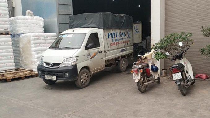 Xe tải chuyển nhà trọn gói Phi Long tại phường Ngọc Thụy