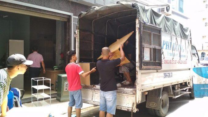 Xe tải chuyển nhà tại phường Phạm Đình Hổ