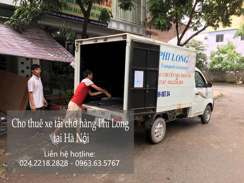 Xe tải chuyển nhà giá rẻ tại phường Cầu Dền