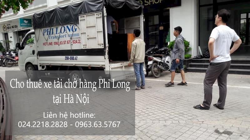 Dịch vụ xe tải chở hàng giá rẻ Phi Long tại phố Đỗ Đức Dục