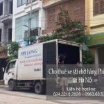 Xe tải chuyển nhà Phi Long tại phường Phương Canh