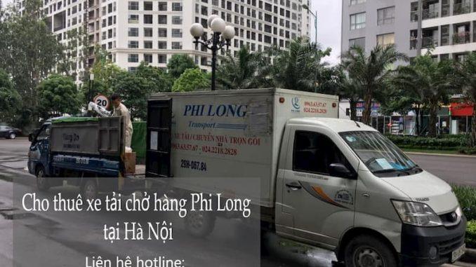 Dịch vụ xe tải trọn gói Phi Long tại phố Dương Hà