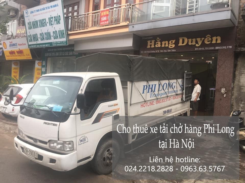Dịch vụ xe tải chuyển nhà Phi Long tại phố Kiêu Kỵ
