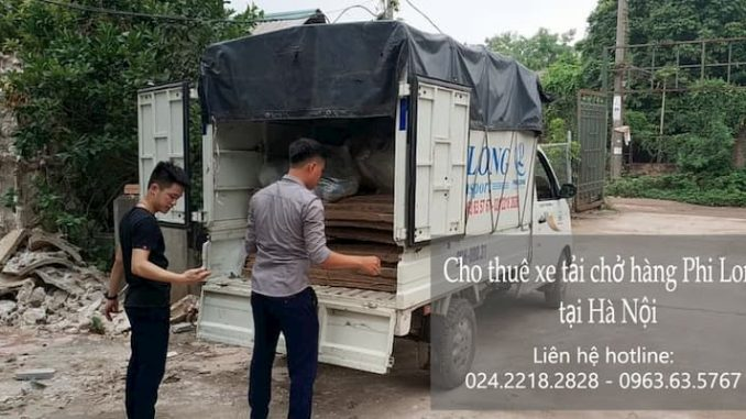 Xe tải chuyển nhà Phi Long tại xã Liên Ninh