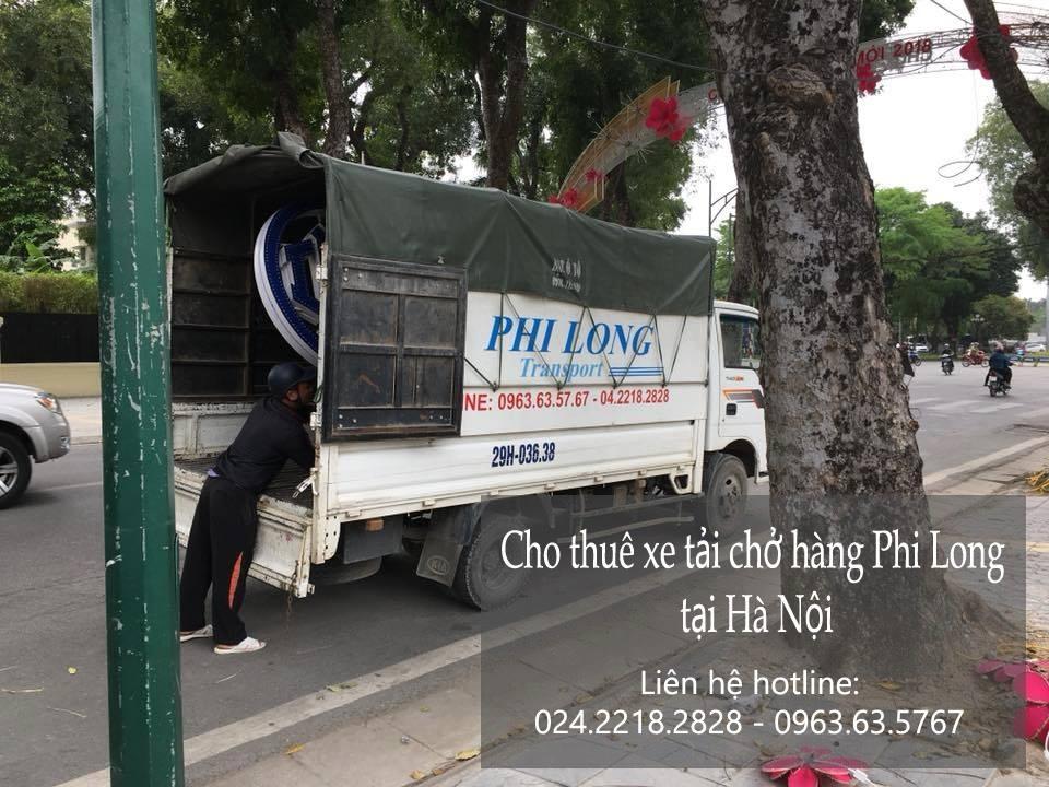 Dịch vụ giá rẻ taxi tải Phi Long tại phố Đông Hội