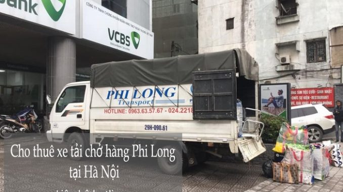 Xe tải chuyển nhà giá rẻ Phi Long tại thị trấn Trâu Quỳ
