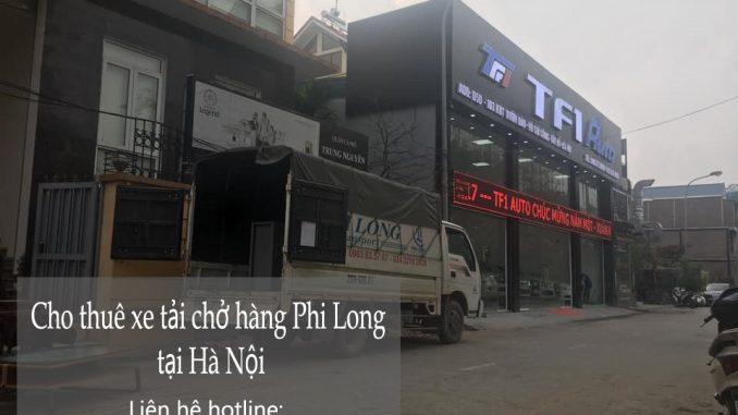 Hãng xe tải chở hàng thuê Phi Long tại phố Chu Văn An