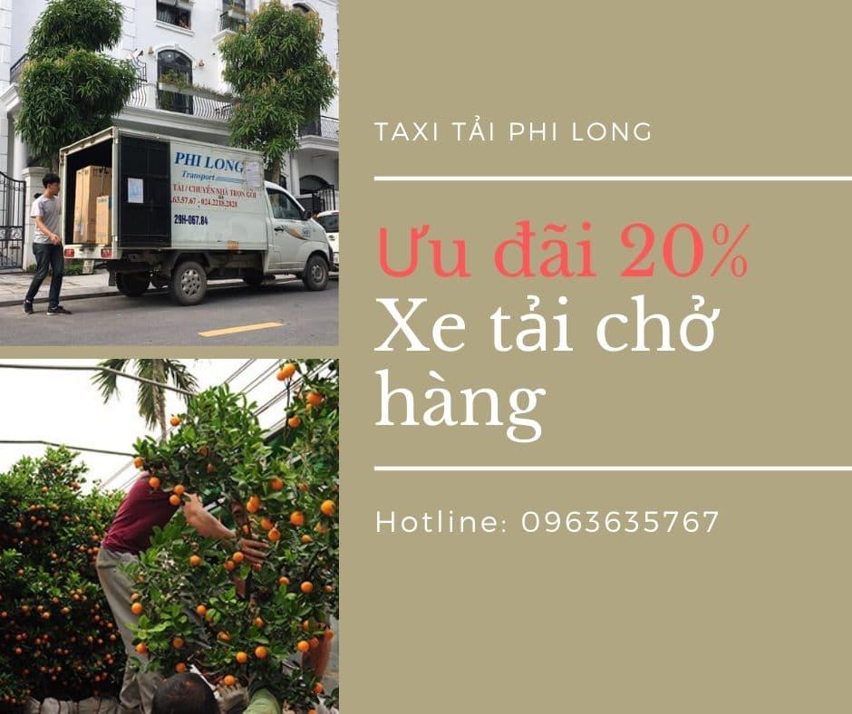 Xe tải chuyển nhà tại xã Việt Hùng