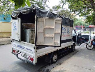 Xe tải chở hàng chất lượng Phi Long phố Đinh Lễ