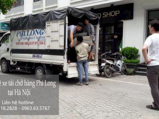 Xe tải vận chuyển giá rẻ Phi Long tại xã Phú Nghĩa