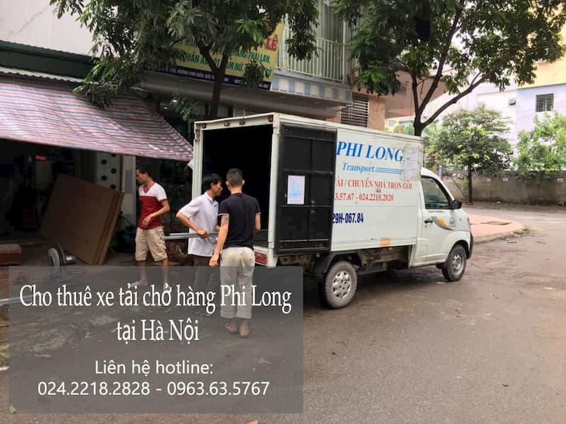 Xe tải vận chuyển Phi Long tại xã Di Trạch