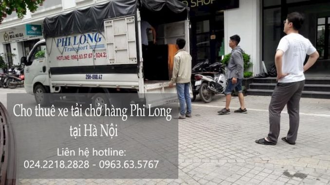 Xe tải chuyển nhà tại xã Thượng Mỗ