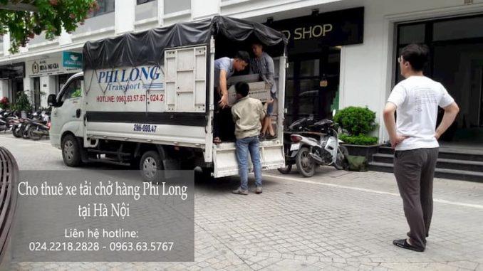 Xe tải chuyển nhà Phi Long tại xã Thọ An