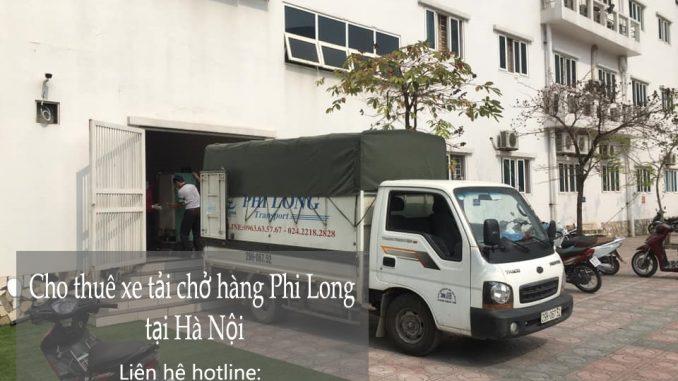 Xe tải vận chuyển Phi Long tại xã Tân Hội