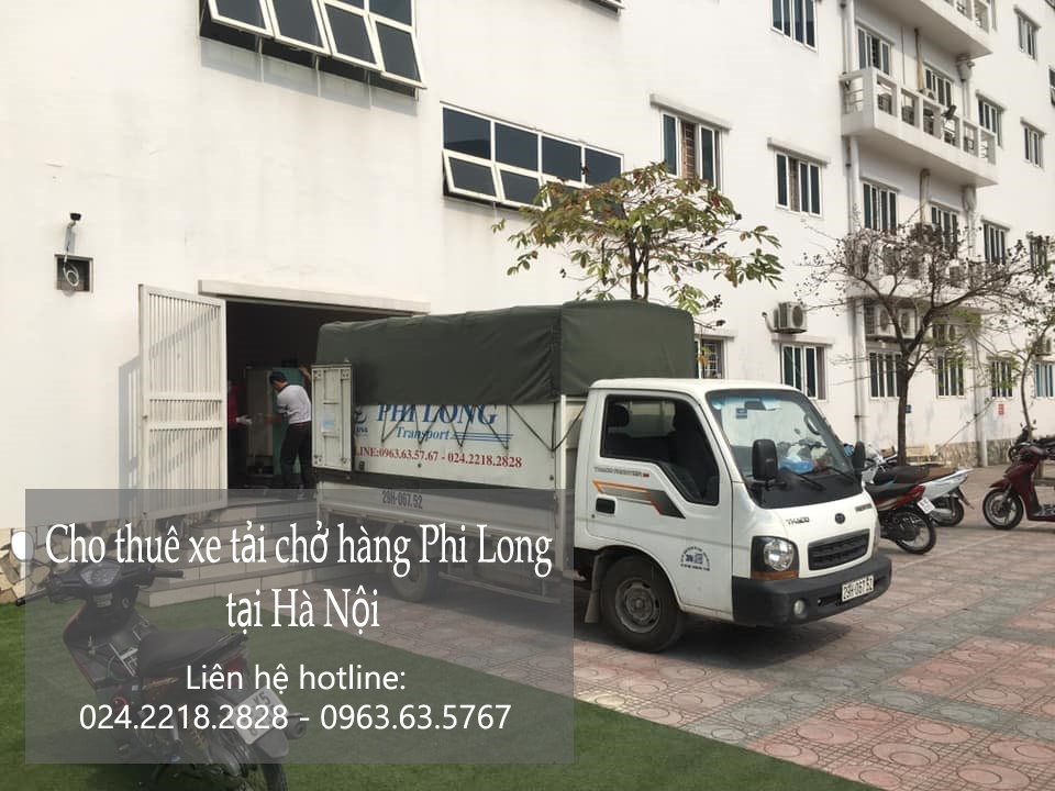 Xe tải vận chuyển Phi Long tại xã Song Phượng