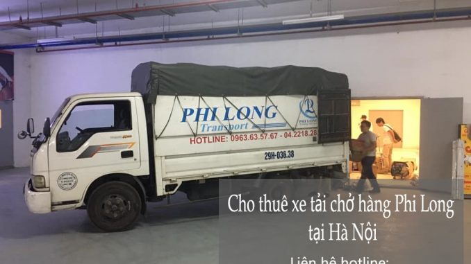 Xe tải vận chuyển tại xã Tân Lập