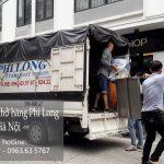 Xe tải chuyển nhà Phi Long tại xã Khánh Hà