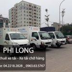 Xe tải vận chuyển Phi Long tại xã Thống Nhất