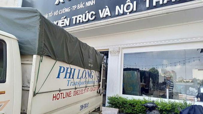 Xe tải vận chuyển Phi Long tại xã Phú Túc