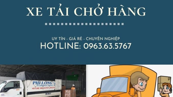Dịch vụ vận chuyển Phi Long tại xã Tri Trung