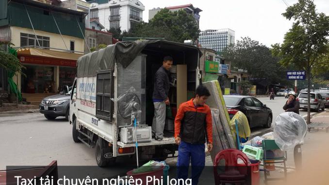Xe tải chuyển nhà Phi Long tại xã Canh Nậu