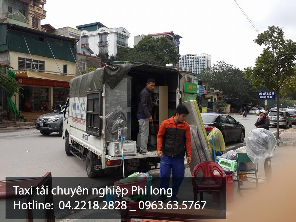 Xe tải chuyển nhà Phi Long tại xã Bình Yên