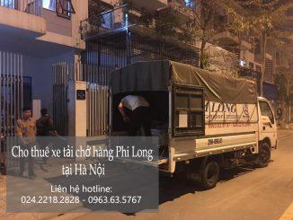 Xe tải chở hàng thuê Phi Long tại đường Nguyễn Hoàng