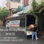Xe tải chuyển nhà giá rẻ Phi Long tại đường Tây Mỗ