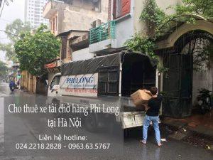 Xe tải vận chuyển Phi Long tại xã Đại Đồng