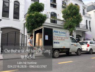 Xe tải chuyển nhà Phi Long tại xã Yên trung