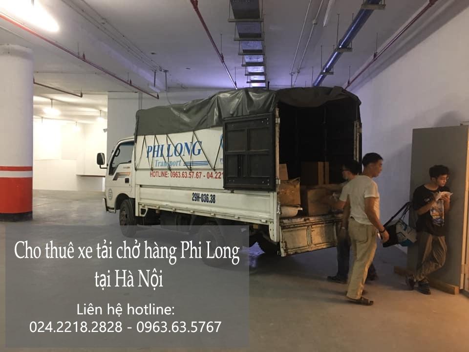 Xe tải chuyển nhà Phi Long tại xã Hạ bằng