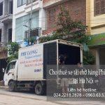Xe tải chuyển nhà dịp Tết Phi Long