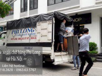 Dịch vụ xe tải chuyển nhà Phi Long tại đường Phú Gia