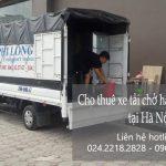 Xe tải chuyển nhà giá rẻ Phi Long tại đường nam trung yên
