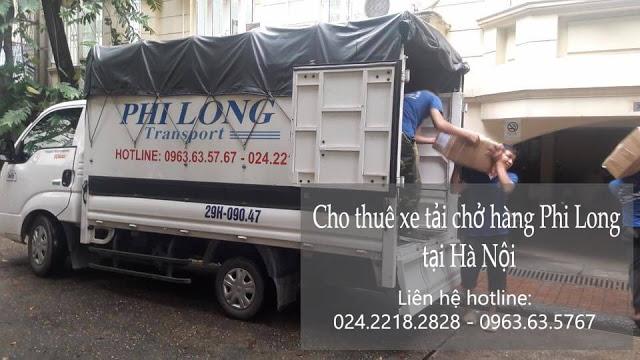 Xe tải chuyển nhà Phi Long tại đường Thị Cấm