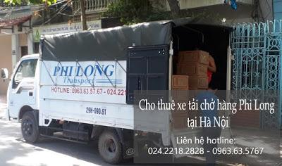 Xe tải chuyển nhà giá rẻ Phi Long tại đường Tương Mai
