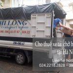 Xe tải chuyển nhà giá rẻ Phi Long tại phố Pháo Đài Láng