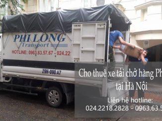 Dịch vụ cho thuê xe tải tại đường Quảng Bá