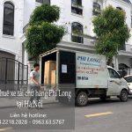 Xe tải chuyển nhà Phi Long tại phường Mỹ Đình 1