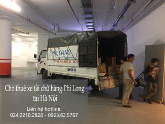 Xe tải chuyển nhà Phi Long tại đường Phú Viên