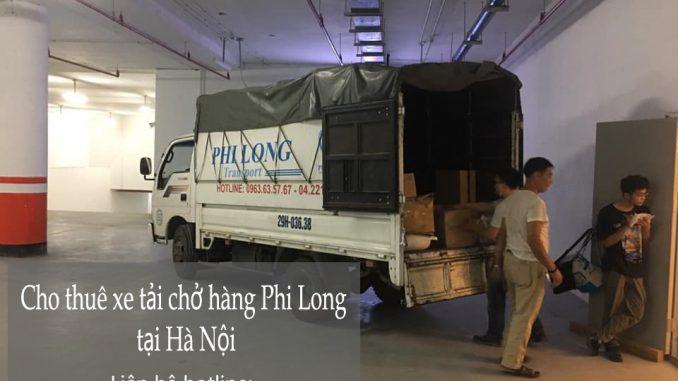 Xe tải chuyển nhà Phi Long tại đường đinh đức thiện