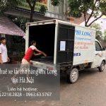 Xe tải chuyển nhà Phi Long tại đường Trường Lâm