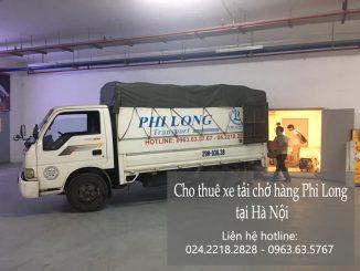 Xe tải chuyển nhà Phi Long tại đường hoa lâm