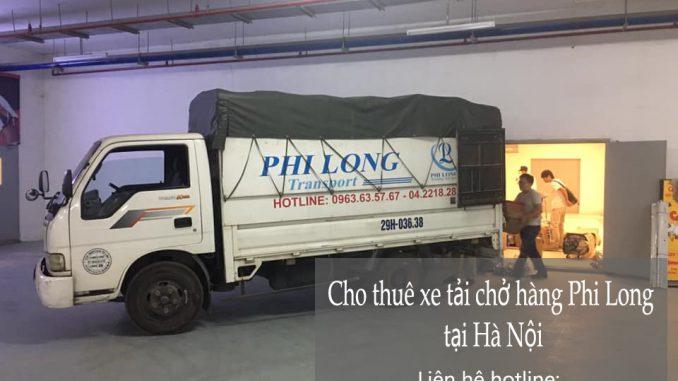 Xe tải chuyển nhà Phi Long tại đường Tân Mai
