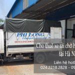 Phi Long dịch vụ cho thuê xe taxi tải giá rẻ từ Hà Nội đi Hải Phòng