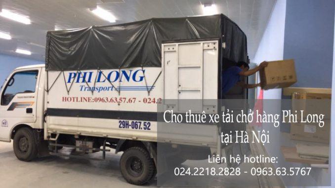 Xe tải chuyển nhà tại phố Trường Lâm
