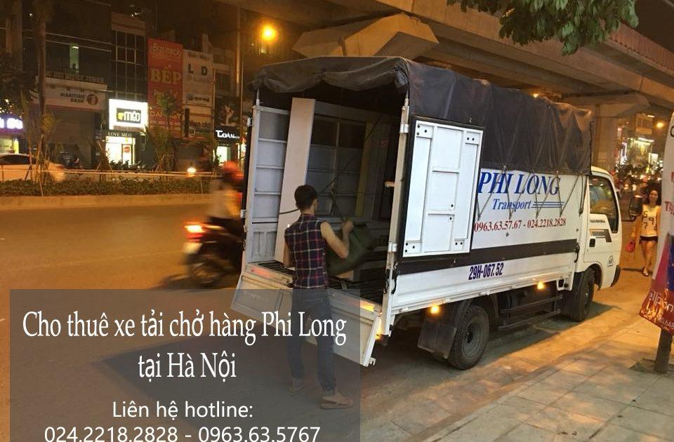 dịch vụ taxi tải tại hà nội tại đường ngô viết thụ
