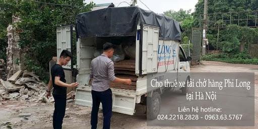 Xe tải chuyển nhà Phi long tại đường Nguyễn Cao Luyện