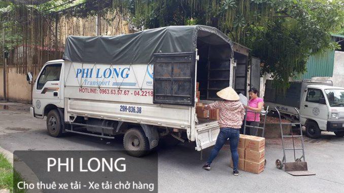 Xe tải chuyển nhà giá rẻ tại đường Phạm Khắc Quảng