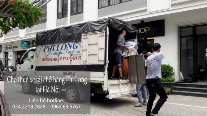 Xe tải chuyển nhà giá rẻ tại phố Thạch Cầu